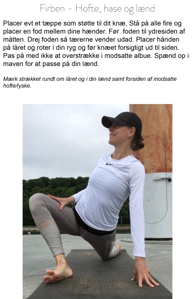 Yoga for løbere_firben